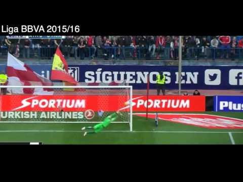 Atletico de Madrid 1 - 0 Málaga, Goles y Resumen, Liga BVA 2016