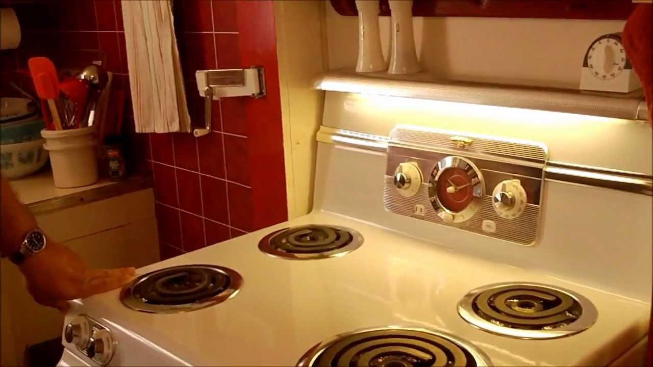 ge frigidaire ranges from 1950s