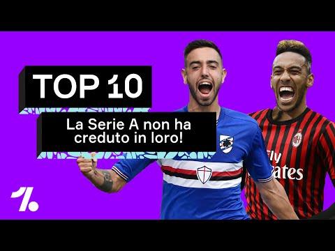 10 giocatori in cui la Serie A NON HA CREDUTO abbastanza, da Bruno Fernandes ad Aubameyang!