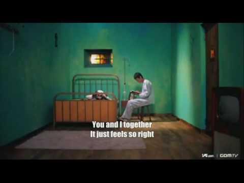 Park Bom (2NE1) - You and I karaoke instrumental with back up voice