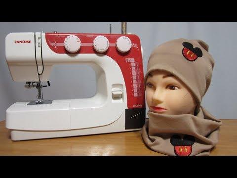 Сшить шапку и снуд из трикотажа выкройка для детей