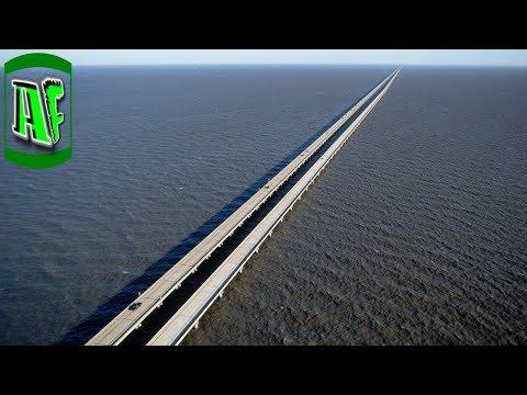 ყველაზე გრძელი ხიდი მსოფლიოში (ვიდეო)