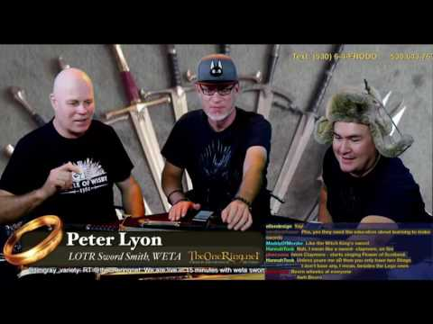 LOTR Sword Smith Peter Lyon