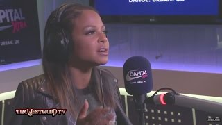 Westwood - Christina Milian on Nicki Minaj, music, Nick Cannon, Drake & Madonna