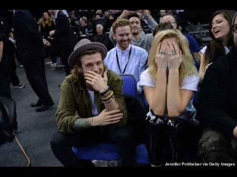 McBUSTED'S DOUGIE POYNTER IS SMITTEN WITH ELLIE GOULDING!