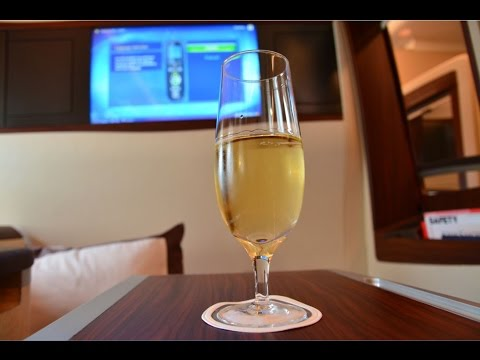 Singapore Airlines A380 Suites SQ802 Singapore to Beijing