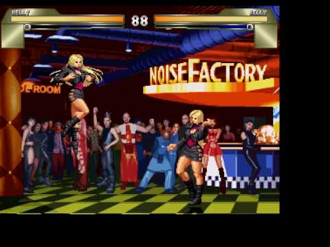 First Video of Kelly ( Edited/Original Mugen Character in Snk Style )