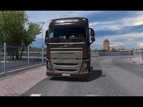 Euro Truck Simulator 2 Gdynia-Bydgoszcz-Elbląg i stadion w Gdańsku