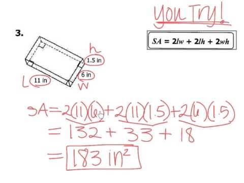 GEO CH. 12 Day 1 - Classifying 3D Figures, SA of Prisms and Cylinders