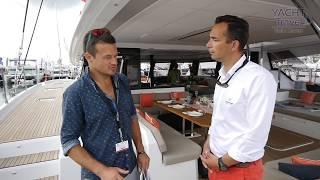 Мировая премьера катамарана Alegria 67 от Fountaine Pajot (World Premiere).