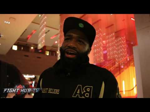 Adrien Broner hints he will be on the Mayweather McGregor undercard