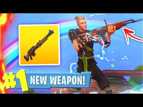 How To Use New HUNTING RIFLE Early In Fortnite! New HUNTING RIFLE Update In Fortnite Battle Royale!