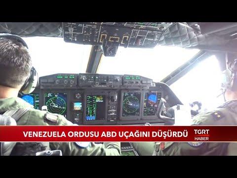 Venezuela Ordusu ABD Uçağını Düşürdü