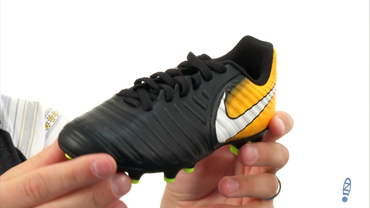 Nike Kids Tiempo Rio IV Firm Ground Soccer Boot (Toddler