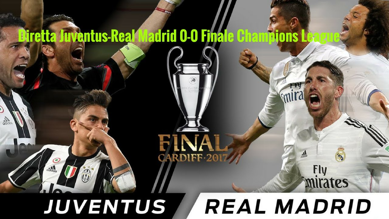 diretta juventus real madrid 1 4 live streaming champions league finale