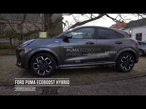 Impressie van de Ford Puma Ecoboost Hybrid
