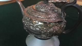 Антикварное столовое серебро Англия Америка стерлинг 925 проба клейма. Красивая авторская работа(, 2017-06-07T15:37:30.000Z)