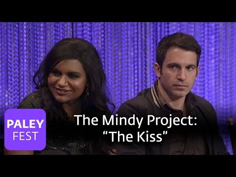 The Mindy Project  Mindy Kaling, Chris Messina on The Kiss