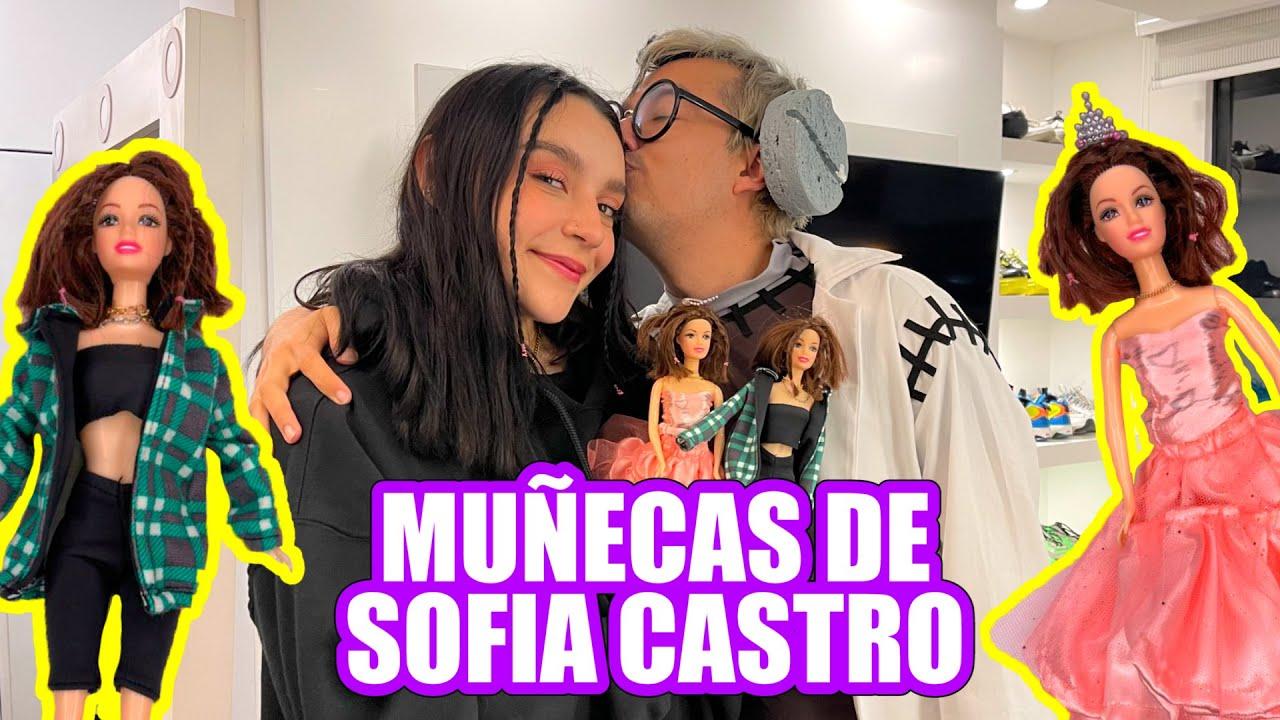 HICE LAS MUÑECAS DE SOFIA CASTRO Y ASÍ REACCIONA *TE LA REGALO* - Doctor Juguetes