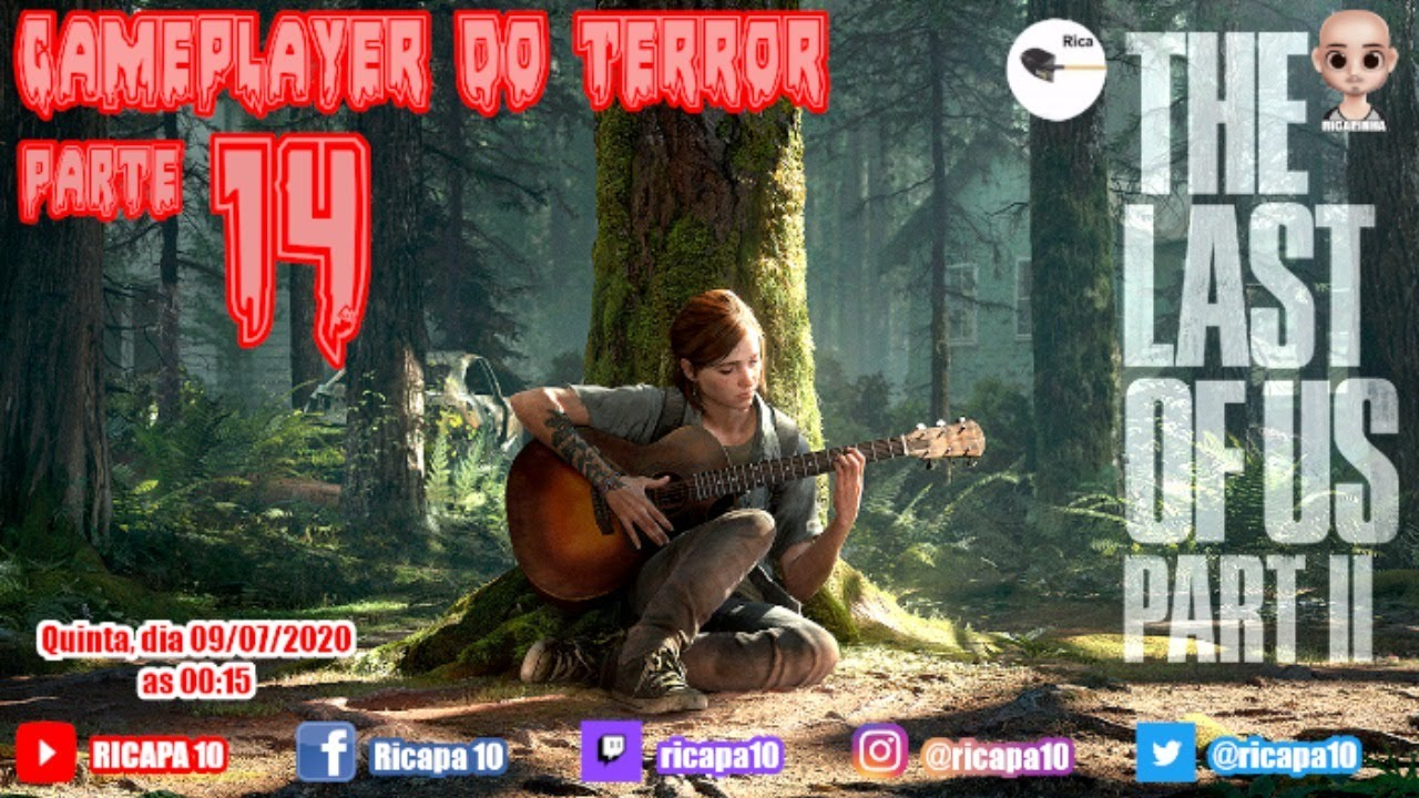 THE LAST OF US PART II - PARTE 14 | GAMEPLAYER DO TERROR | PS4