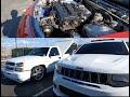 Turbo Silverado Vs Jeep Trackhawk Vs Turbo Integra/turbo Rsx (roll Racing In Mexico)