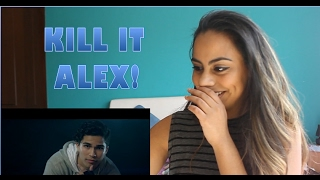Alex Aiono - Work The Middle (Video) - (Reaction)