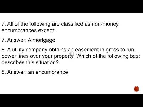 California Real Estate Exam - Questions and answers