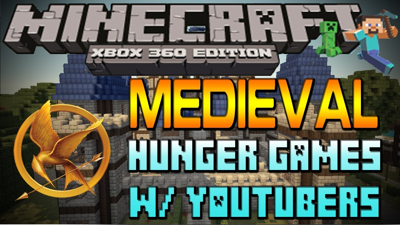 Xbox 360 Hunger Games : Minecraft xbox epic hunger games w br thr n