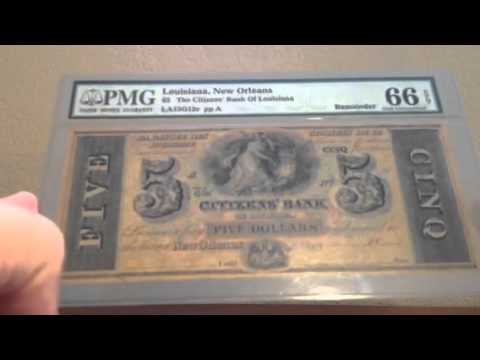 New Currency Acquisitions - Interesting Post Civil War - Surprisingly Affordable!