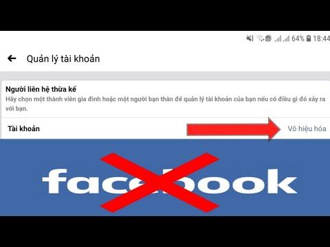 Cách vô hiệu hóa tài khoản Facebook tạm thời trên điện thoại