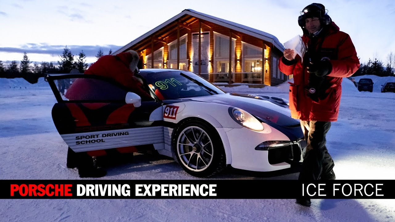 porsche driving experience winter ice force levi finland. Black Bedroom Furniture Sets. Home Design Ideas