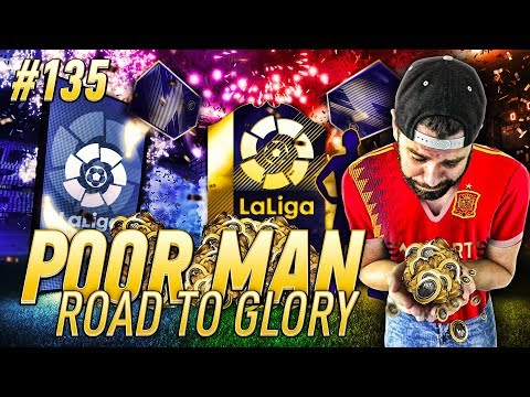 WE PACK THE SPANISH TOTS MESSI!! HUGE COIN PROFIT! - Poor Man RTG #135 - FIFA 18 Team Of The Season