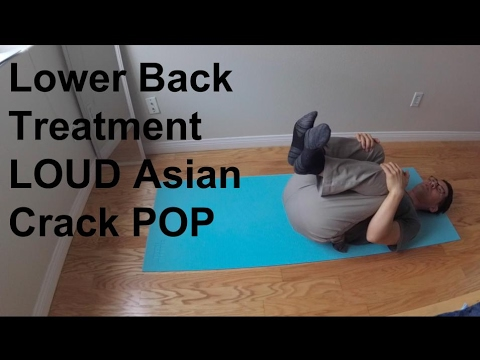 Chinese Traditional Lower Back Treatment Adjustment Pop Solution