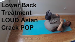 Chinese Traditional Lower Back Treatment Adjustment (crack pop solution)