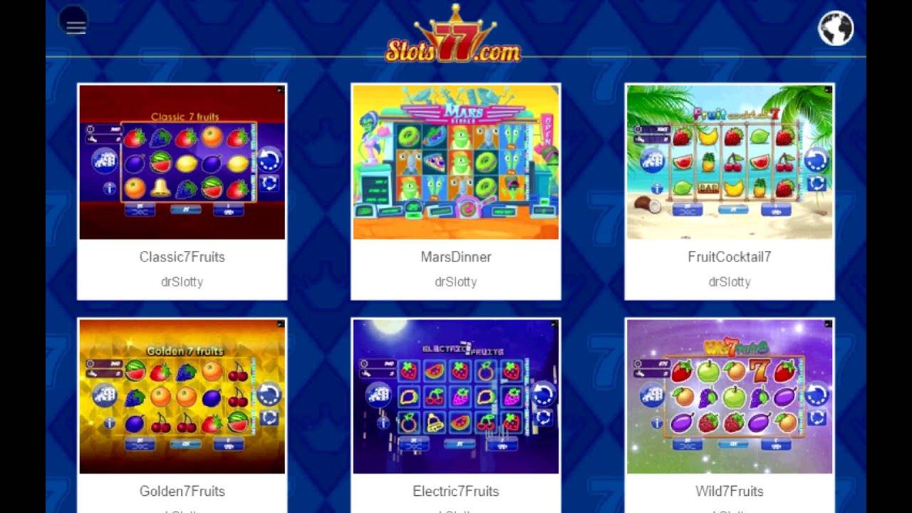 Kostenlos Slotmaschinen Spielen