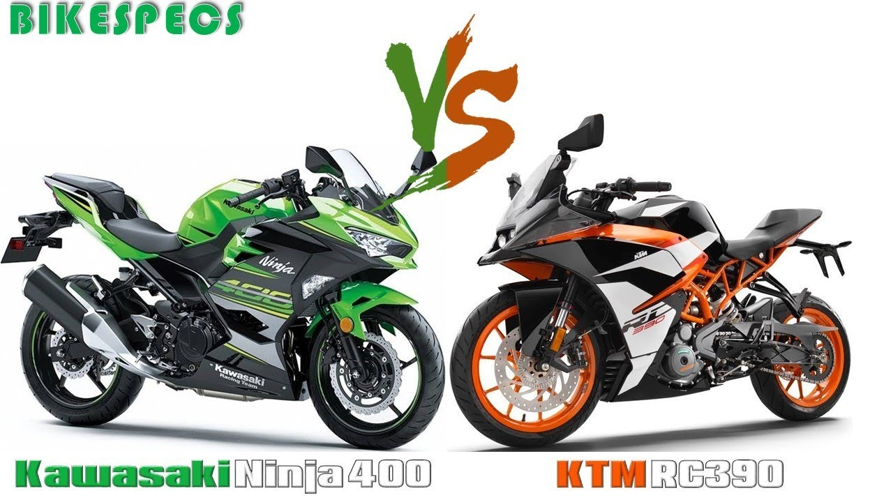 2018 kawasaki ninja 400 vs ktm rc 390 youtube. Black Bedroom Furniture Sets. Home Design Ideas