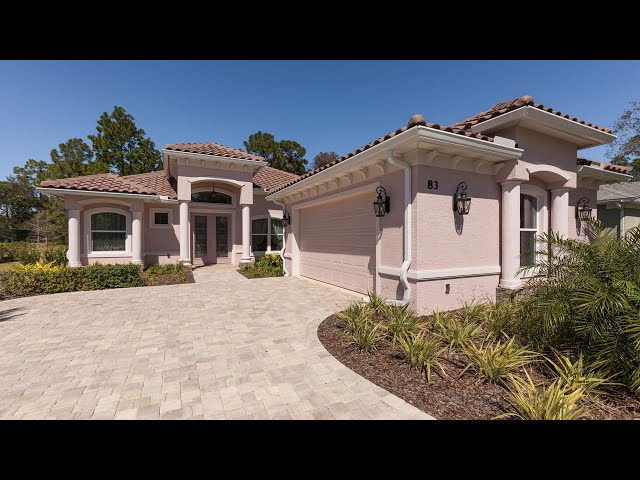 Model MARIA. Luxury Certified Green Home in Palm Coast, Florida.