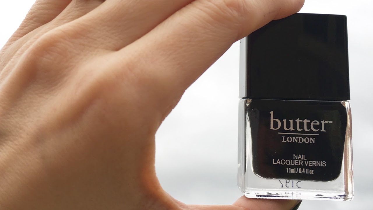 Butter London Nail Polish Review - YouTube