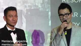 Andy Lau & Gordon Lam Red Carpet - FIRESTORM Premiere - 2013 ScreenSingapore - Meniscus Magazine