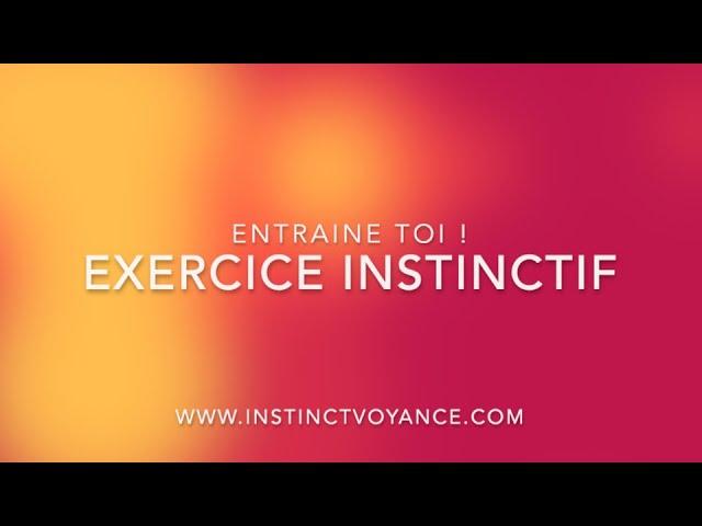 Exercice Instinctif : Entraine Toi avec L'Oracle Couleurs