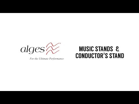 Music Stands & Conductor's Stand