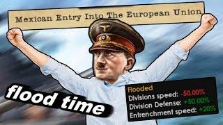 Flooding The Entire World For A Meme - Hoi4 - Man The Guns