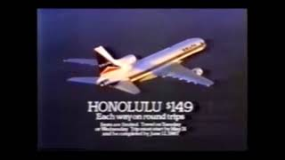 1987 Delta Hawaiian Commercial