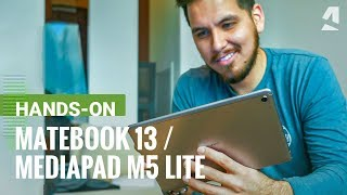Huawei MateBook 13 and MediaPad M5 Lite hands-on review - Just launching in the US