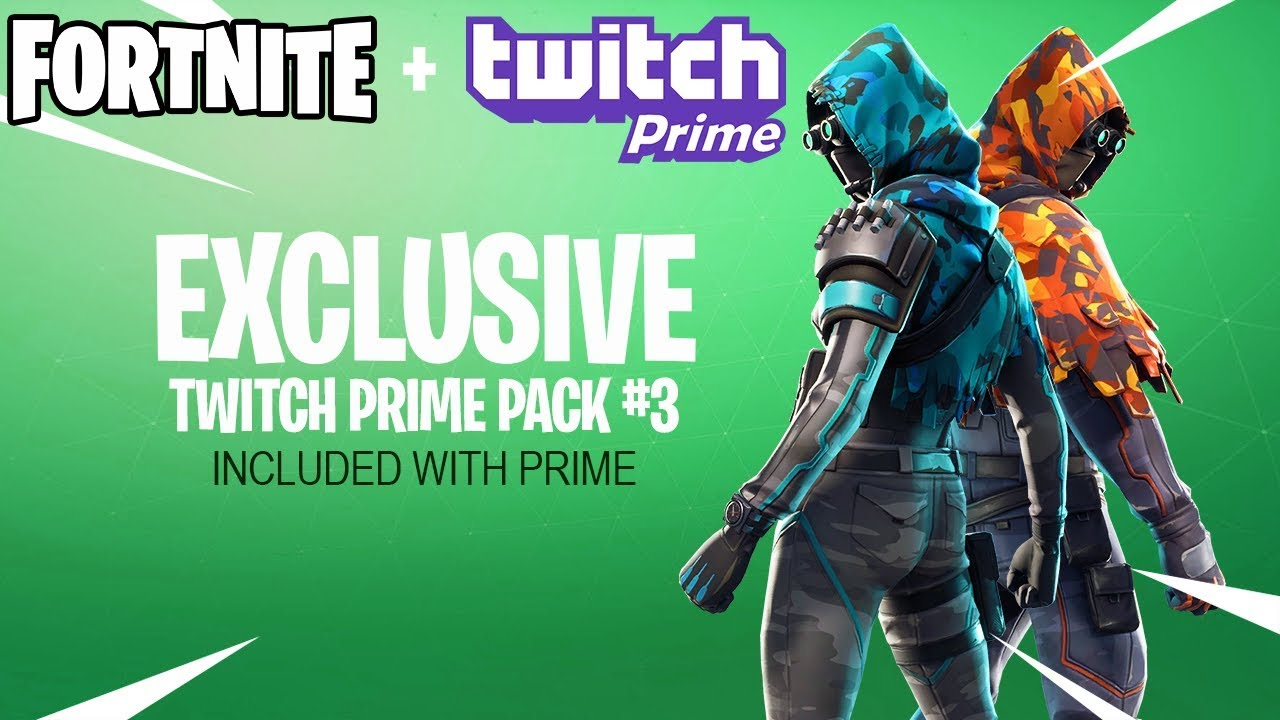 Fortnite Twitch Prime Pack 3 Release Date Announcement