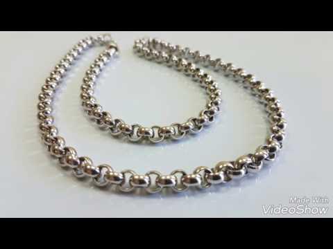 # Цепь плетение Шопард.  # Chain Weaving Chopard.