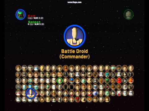 lego star wars 2 all characters and characters ep13