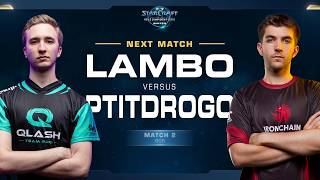 Lambo vs Ptitdrogo ZvP - Match 2 Finals - WCS Winter Europe
