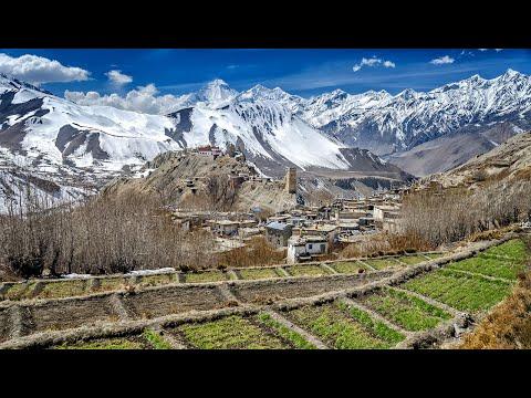 Day 2 of Muktinath Trekking in Nepal: Muktinath to Kagbeni via Jhong