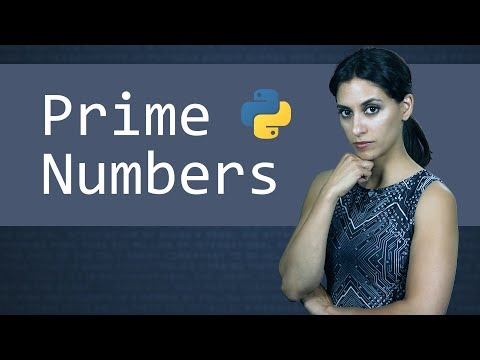 Python and Prime Numbers - Learn Python Programming  (Computer Science)